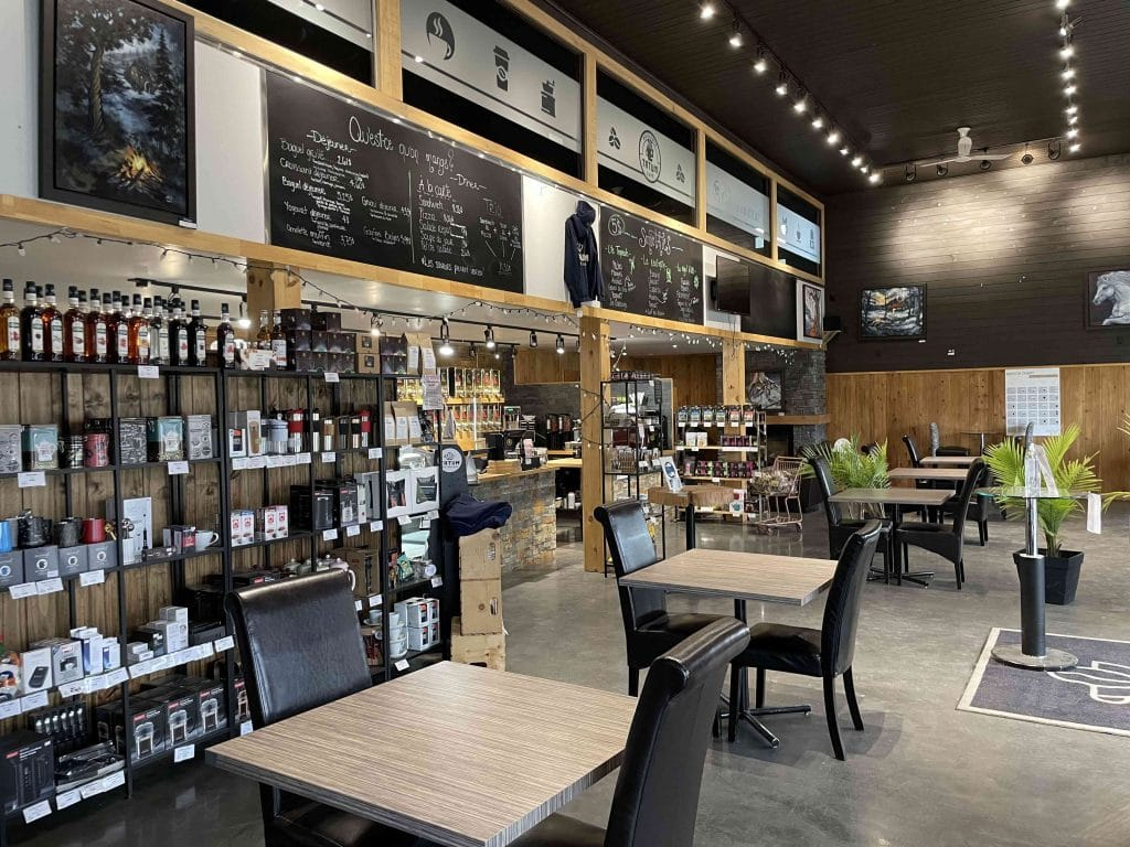 Café Tatum intérieur 2021